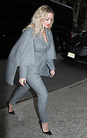 NEW YORK, NY February 1: Rita Ora at Live With Kelly &amp; Ryan  in New York City on February 1, 2018. <br /> CAP/MPI/RW<br /> &copy;RW/MPI/Capital Pictures