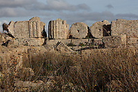 Temple A, 6th-5th century BC, on the acropolis of Selinunte, Sicily, Italy. Picture by Manuel Cohen