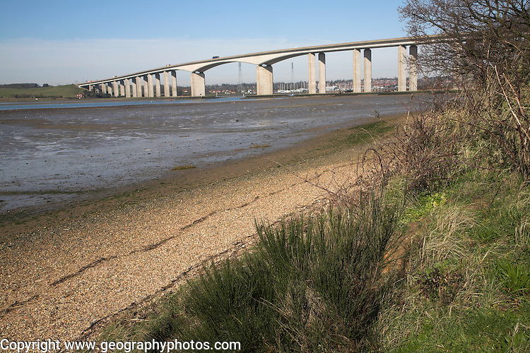Orwell Bridge, Suffolk, England