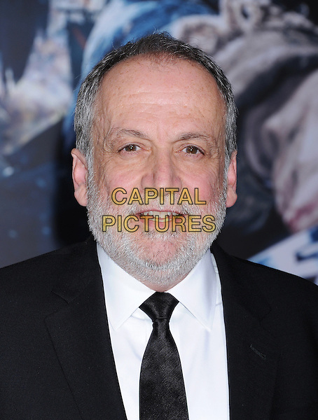 HOLLYWOOD, CA - DECEMBER 09: Senior Visual Effects Supervisor Joe Letteri arrives at the 'The Hobbit: The Battle Of The Five Armies' at Dolby Theatre on December 9, 2014 in Hollywood, California.<br /> CAP/ROT/TM<br /> &copy;TM/ROT/Capital Pictures