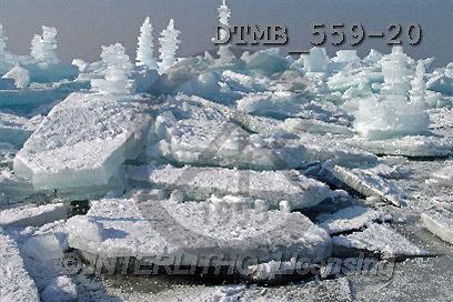 Gerhard, CHRISTMAS LANDSCAPE, photos, Bayern.Eisschollen am Chiemsee bei Chieming.(DTMB559-20,#XL#) Landschaften, Weihnachten, paisajes, Navidad