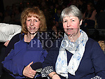 Mary Crilly and Ann Walsh at the Royal Meath Accordion Orchestra Concert in The Barbican Centre. Photo:Colin Bell/pressphotos.ie