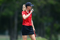 SINGAPORE - MARCH 03: Amy Olson of USA on the 18th green during the final round of the HSBC Women's World Championship 2019 at Sentosa Golf Club - Tanjong Course, Singapore on March 03, 2019.<br /> .<br /> .<br /> .<br /> (Photo by: Naratip Golf Srisupab/SEALs Sports Images)<br /> .<br /> Any image use must include a mandatory credit line adjacent to the content which should read: Naratip Golf Srisupab/SEALs Sports Images