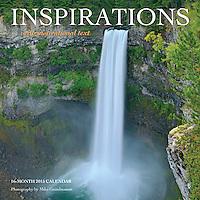 PRODUCT: Calendar<br /> TITLE: Inspirations<br /> CLIENT: Wyman Publishing
