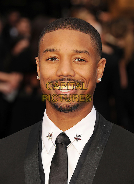 HOLLYWOOD, CA- MARCH 02: Actor Michael B. Jordan attends the 86th Annual Academy Awards held at Hollywood &amp; Highland Center on March 2, 2014 in Hollywood, California.<br /> CAP/ROT/TM<br /> &copy;Tony Michaels/Roth Stock/Capital Pictures