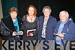 Enjoying a great night of music and song with Mary Coughlan in Tech Amergin on Sunday night last were l-r; Mary Horgan, Mary Coughlan, Dorothy Rudd & Veronica Schutz.