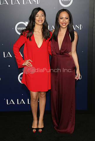 "Westwood, CA - DECEMBER 06: Nicole Wolf, Cheryl Burke, At Premiere Of Lionsgate's ""La La Land"" At Mann Village Theatre, California on December 06, 2016. Credit: Faye Sadou/MediaPunch"