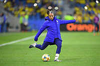 LE HAVRE, FRANCE - JUNE 20: Mallory Pugh #2 during a 2019 FIFA Women's World Cup France group F match between the United States and Sweden at Stade Océane on June 20, 2019 in Le Havre, France.