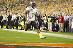 01/09/2011 - LaMichael James scores the first Oregon touchdown in the first half during the BCS National Championship game in Scottsdale, Arizona.