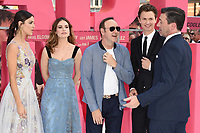 Eiza Gonzalez, Lily James, Kevin Spacey, Ansel Elgort and John Hamm<br /> at the &quot;Baby Driver&quot; premiere, Cineworld Empire Leicester Square, London. <br /> <br /> <br /> &copy;Ash Knotek  D3285  21/06/2017