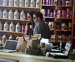 OCTOBER 27TH 2010  EXCLUSIVE..Jeremy Piven eating with a hot brunette girl at M'S Café in Hollywood California. Then Jeremy walked next door at to The Tea Bar -Market-Café & bought some tea bags.  The couple were shopping around for about 10 minutes before getting there car from the valet. ..ABILITYFILMS@YAHOO.COM.805-427-3519.WWW.ABILITYFILMS.COM.