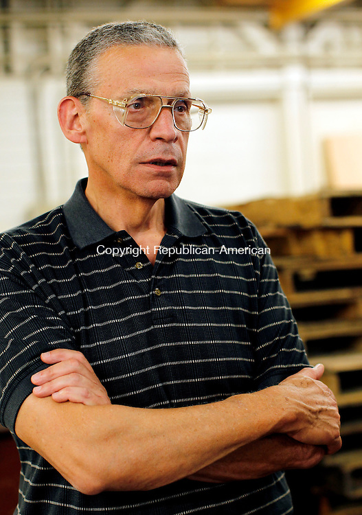 Barkhamstead, CT- 21, July 2010-072110CM09 President of Sterling Engineering Corporation, John Lavieri talks about companies operation inside one of the few buildings in Barkhamstead.    --Christopher Massa Republican-American