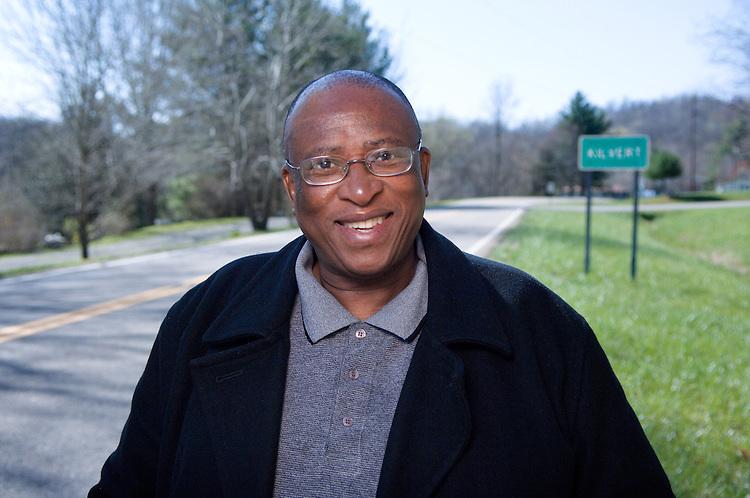 Zakes Mda env. Portrait for Ohio Today in Kilvert