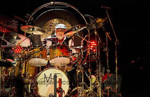 Fleetwood Mac drummer Mick Fleetwood performing live at the O2 London UK - 25 September 2013.  Photo credit: Iain Reid/IconicPix