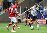 Bolton Wanderers' Yanic Wildschut breaks<br /> <br /> Photographer Andrew Kearns/CameraSport<br /> <br /> The EFL Sky Bet Championship - Bolton Wanderers v Bristol City - Saturday August 11th 2018 - University of Bolton Stadium - Bolton<br /> <br /> World Copyright &copy; 2018 CameraSport. All rights reserved. 43 Linden Ave. Countesthorpe. Leicester. England. LE8 5PG - Tel: +44 (0) 116 277 4147 - admin@camerasport.com - www.camerasport.com