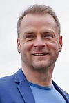 """15. 01.2019, Hotel im Wasserturm, Kaygasse 2, Koeln,  GER, Pressefototermin ZDF 25. Film Krimireihe Marie Brand, """"und das Spiel mit dem Glueck"""", <br /> <br /> im Bild / picture shows: <br /> Hinnerk Schönemann / Schoenemann Schauspieler und Assistent von Marie Brand, <br /> <br /> Foto © nordphoto / Meuter"""