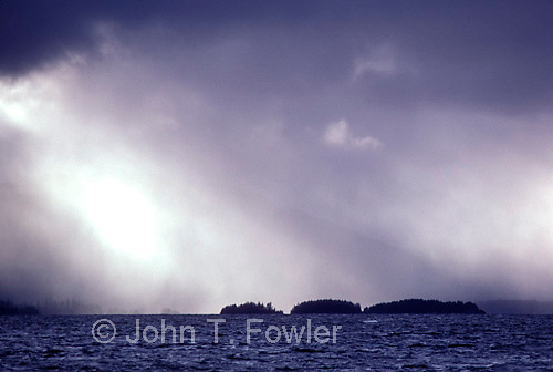 Storm at sea, Queen Charlotte Islands<br />