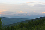 View from Solomon's Dome near Dawson City, The Yukon Terrotery, Canada
