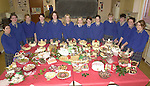Pupils from Miltwon Secondary School pictured with their Christmas Fayre of cakes, puddings and chocolate logs which they prepared for next weekends festivities. Included are from left, Rachel O'Shea, Catherine Sheehan, Catriona O'Grady, Noelle Savage, Catherine Doyle, Dara Laverty, Rose O'Meara, Selina O'Grady, Karen Moriarty, Marie O'Connell, Eoin O'Sullivan, Sharon Healy and Cara O'Sullivan.<br />Picture by MacMonagle, Killarney
