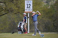 Peter Uihlein (USA) watches his tee shot on 12 during day 2 of the World Golf Championships, Dell Match Play, Austin Country Club, Austin, Texas. 3/22/2018.<br /> Picture: Golffile | Ken Murray<br /> <br /> <br /> All photo usage must carry mandatory copyright credit (&copy; Golffile | Ken Murray)