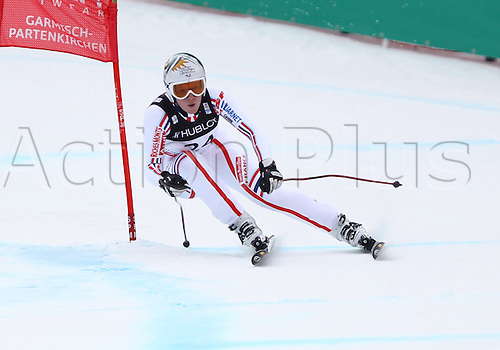 11.02.2011  FIS ALPINE WORLD SKI CHAMPIONSHIPS. REVILLET Aurelie in Garmisch-Partenkirchen, Germany.