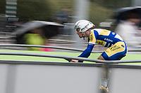 Stijn Steels (BEL/Sport Vlaanderen Baloise)<br /> <br /> Binckbank Tour 2017 (UCI World Tour)<br /> Stage 2: ITT Voorburg (NL) 9km