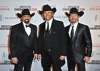 The Texas Tenors - John Hagen, JC Fischer &amp; Marcus Collins - at the 28th Annual American Cinematheque Award Gala honoring Matthew McConaughey at the Beverly Hilton Hotel.<br /> October 21, 2014  Beverly Hills, CA<br /> Picture: Paul Smith / Featureflash