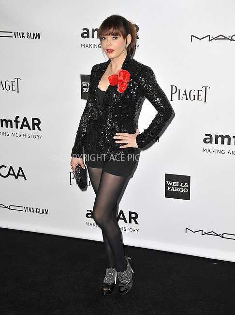 WWW.ACEPIXS.COM....October 11 2012, LA ....Rose McGowan arriving at the amfAR 3rd Annual Inspiration Gala at Milk Studios on October 11, 2012 in Los Angeles, California. ......By Line: Peter West/ACE Pictures......ACE Pictures, Inc...tel: 646 769 0430..Email: info@acepixs.com..www.acepixs.com