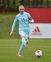 20171123 - TUBIZE , BELGIUM : Russian Anna Belomyttseva pictured during a friendly game between the women teams of the Belgian Red Flames and Russia at complex Euro 2000 in Tubize , Thursday  23 October 2017 ,  PHOTO Dirk Vuylsteke | Sportpix.Be