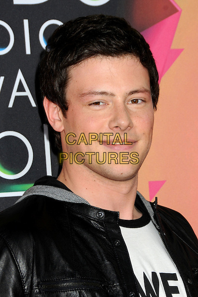 COREY MONTEITH .at the 23rd Annual Nickelodeon Kids' Choice Awards 2010 held at Pauley Pavilion in Westwood, California, USA, March 27th 2010 .arrivals kids portrait headshot black hood hoodie leather .CAP/ADM/BP.©Byron Purvis/Admedia/Capital Pictures
