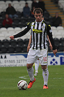 Paul McGowan in the St Mirren v Ross County Scottish Professional Football League Premiership match played at St Mirren Park, Paisley on 3.5.14.