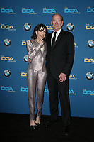 BEVERLY HILLS, CA - FEBRUARY 3: Sally Hawkins and Richard Jenkins in the press room at the 70th Annual DGA Awards at The Beverly Hilton Hotel in Beverly Hills, California on February 3, 2018. <br /> CAP/MPI/FS<br /> &copy;FS/MPI/Capital Pictures