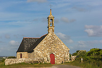 France, Bretagne, (29), Finistère, Cap Sizun, Plogoff:  La chapelle Notre-Dame-du-Bon-Voyage //  France, Brittany, Car Sizun,