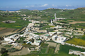 View from Citadel in Victoria (also known as Rabat) over the maltese Island of Gozo