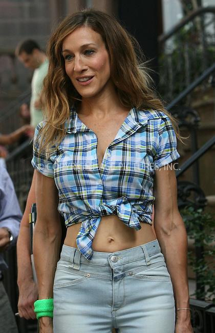 WWW.ACEPIXS.COM . . . . .  ....September 4 2009, New York City....Actress Sarah Jessica Parker  on the set of the new 'sex and the city' movie on September 4 2009 in New York City....Please byline: NANCY RIVERA - ACEPIXS.COM.... *** ***..Ace Pictures, Inc:  ..tel: (212) 243 8787..e-mail: info@acepixs.com..web: http://www.acepixs.com