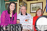 SESSIONS: Members of the County Fleadh Cheoil committee who are holding music sessions locally and searching for old pics of the last Fleadh in 1962, l-r: Denise Wren, David Walsh, Margaret O'Connor.