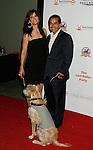 HOLLYWOOD, CA. - October 03: Mayor of Los Angeles Antonio Villaraigosa (R) and TV personality Lu Parker arrive at the Best Friends Animal Society's 2009 Lint Roller Party at the Hollywood Palladium on October 3, 2009 in Hollywood, California.