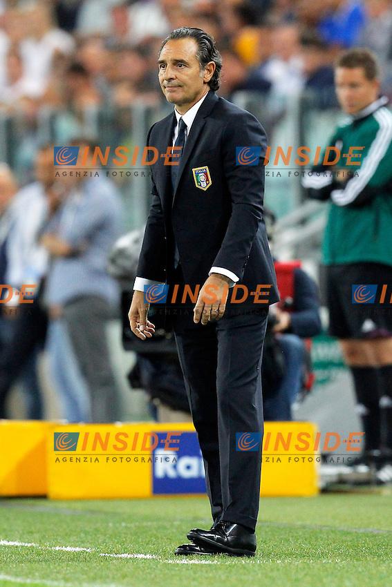 Cesare Prandelli Italia,<br /> Torino 10-09-2013<br /> Juventus Stadium <br /> Football Calcio Qualificazioni Brasile 2014 <br /> Italia - Repubblica Ceca <br /> Foto Marco Bertorello Insidefoto
