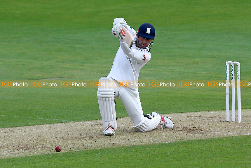 Alastair Cook hits four runs for Essex during Essex CCC vs Hampshire CCC, Specsavers County Championship Division 1 Cricket at The Cloudfm County Ground on 19th May 2017