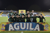 BOGOTÁ -COLOMBIA, 12-08-2017: Jugadores de La Equidad posan para una foto previo al encuentro con Millonarios por la fecha 7 de la Liga Águila II 2017 jugado en el estadio Metropolitano de Techo de la ciudad de Bogotá. / Players of La Equidad pose to a photo prior the match against Millonarios for the date 7 of the Aguila League II 2017 played at Metropolitano de Techo stadium in Bogotá city. Photo: VizzorImage/ Gabriel Aponte / Staff