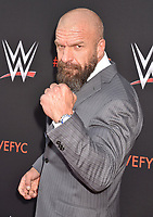 NORTH HOLLYWOOD, CA - JUNE 06: Paul 'Triple H' Levesque attends WWE's first-ever Emmy 'For Your Consideration' event at Saban Media Center on June 6, 2018 in North Hollywood, California.<br /> CAP/ROT/TM<br /> &copy;TM/ROT/Capital Pictures