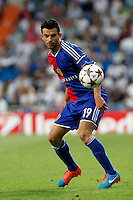 Behrang Safari of FC Basel 1893 during the Champions League group B soccer match between Real Madrid and FC Basel 1893 at Santiago Bernabeu Stadium in Madrid, Spain. September 16, 2014. (ALTERPHOTOS/Caro Marin) /NortePhoto.com