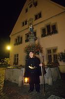 Europe/France/Alsace/68/Haut-Rhin/Turckheim : Le veilleur de nuit