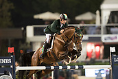 29th September 2017, Real Club de Polo de Barcelona, Barcelona, Spain; Longines FEI Nations Cup, Jumping Final; LYNCH Denis (IRL) riding All Star 5 the final of the Nations Cup