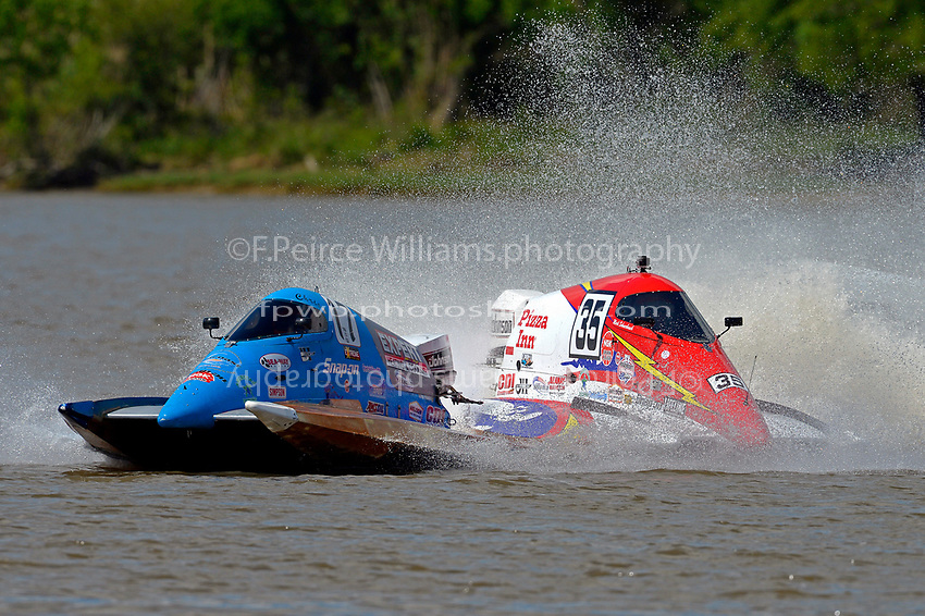 Frame 7: Chris Hughes, (#17) and Mark Schmerbach, (#35) come together in the first turn.    (SST-45 class)
