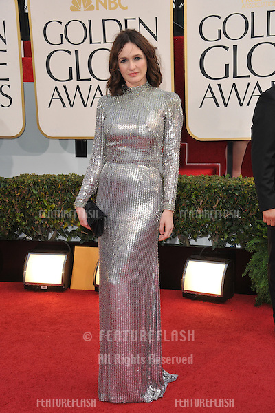 Emily Mortimer at the 70th Golden Globe Awards at the Beverly Hilton Hotel..January 13, 2013  Beverly Hills, CA.Picture: Paul Smith / Featureflash
