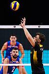 13.09.2019, Paleis 12, BrŸssel / Bruessel<br />Volleyball, Europameisterschaft, Deutschland (GER) vs. Serbien (SRB)<br /><br />Zuspiel Lukas Kampa (#11 GER)<br /><br />  Foto © nordphoto / Kurth