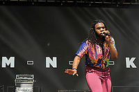 LONDON, ENGLAND - JUNE 3: MNEK (Uzoechi Osisioma &quot;Uzo&quot; Emenike) performing at Mighty Hoopla at Brockwell Park, Brixton on June 3, 2018 in London<br /> CAP/MAR<br /> &copy;MAR/Capital Pictures