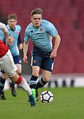 16/04/2018 Arsenal v Blackpool FAYC Semi 2L<br /> <br /> Fin Sinclair-Smith attack