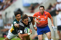 Harry Plumer of Team New Zealand scores a try during the World Championship U20 3rd place match between South Africa and New Zealand on June 17, 2018 in Beziers, France. (Photo by Alexandre Dimou/Icon Sport)